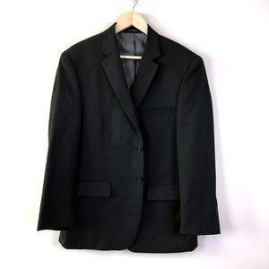 Wilke Rodriguez Mens Charcoal Wool Sports Coat 44S